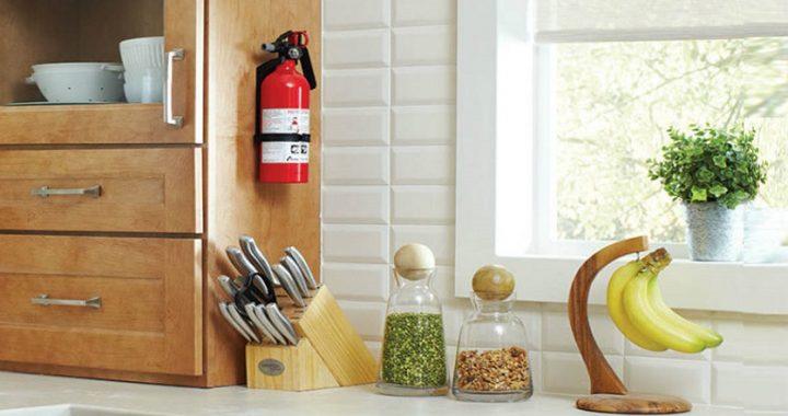 家裡必不可少的消防四寶