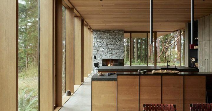 Simple Wood Veneer Design Style